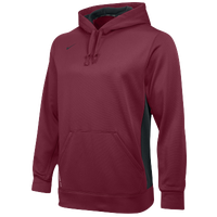 Nike Team KO Hoodie - Men's - Maroon / Grey