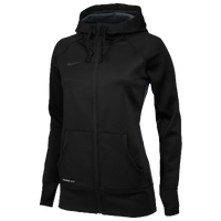 Nike Team Full Zip KO Hoody - Women's - All Black / Black