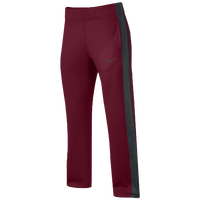 Nike Team KO Pants - Women's - Maroon / Grey