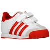 adidas Originals Samoa - Boys' Toddler - White / Red