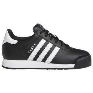 adidas Originals Samoa - Boys' Grade School - Black/White/Black