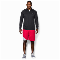Under Armour Lightweight Tech 1/4 Zip - Men's - All Black / Black