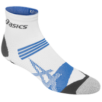 ASICS� Kayano Quarter Socks - White / Light Blue