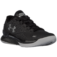 Under Armour Curry 1 Low - Boys' Grade School - Black / Grey