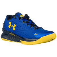 Under Armour Curry 1 Low - Boys' Grade School - Blue / Gold