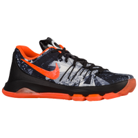 Nike KD VIII - Men's -  Kevin Durant - Black / Orange