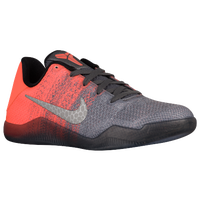 Nike Kobe XI Elite - Boys' Grade School -  Kobe Bryant - Grey / Orange
