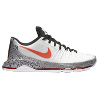 Nike KD VIII - Men's -  Kevin Durant - White / Black