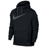 Nike Therma Hoodie - Men's - Black / Grey