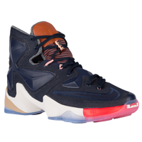 Nike LeBron XIII - Men's -  Lebron James - Navy / Orange