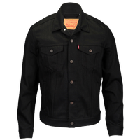 Levi's Trucker Denim Jacket - Men's - All Black / Black