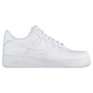 Nike Air Force 1 07 LE Low - Women's - White/White