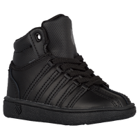 K-Swiss Classic Mid - Boys' Toddler - All Black / Black