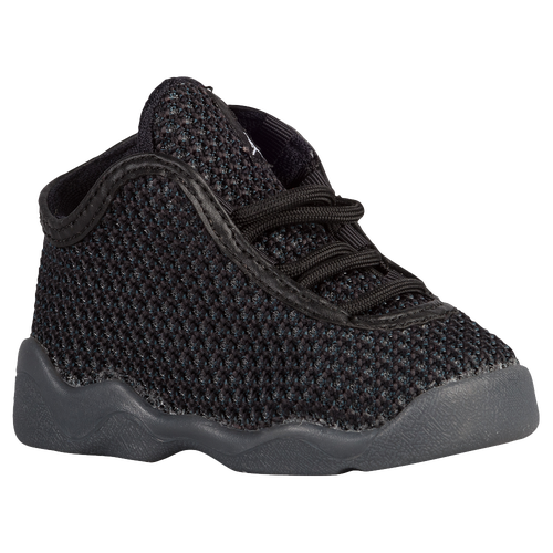 jordan horizon boys 39 toddler basketball shoes black white dark grey. Black Bedroom Furniture Sets. Home Design Ideas