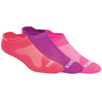 ASICS� Seamless Cushion Low 3 Pack Sock - Women's - Pink / Purple