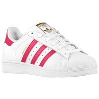 adidas Originals Superstar - Boys' Grade School - White / Pink