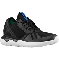 adidas Originals Tubular Runner - Boys' Grade School - Black / Dark Green