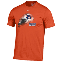 Under Armour College Helmet T-Shirt - Men's - Auburn Tigers - Orange / White