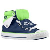Converse PC Peelback - Boys' Grade School - Navy / Light Green