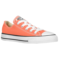 Converse All Star Ox - Girls' Grade School - Orange / White