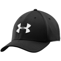 Under Armour Blitzing II Stretch Fit Cap - Men's - Black / White