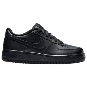 Nike Air Force 1 Low 07 LE - Boys' Grade School - Black/Black