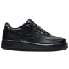 Nike Air Force 1 Low 07 LE - Boys' Grade School - All Black / Black