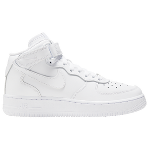 Nike Air Force 1 Mid - Boys' Grade School - White/White