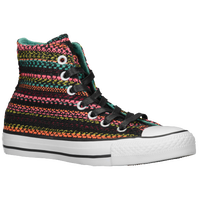Converse All Star Knit - Girls' Grade School - Black / White