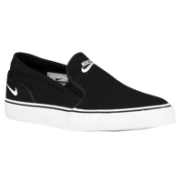 Nike Toki Slip - Women's - Black / White