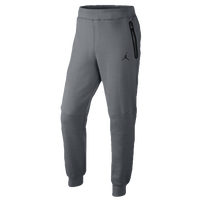 Jordan Lite Fleece Pants - Men's - Grey / Grey