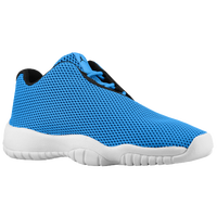 Jordan AJ Future Low - Boys' Grade School - Light Blue / Black