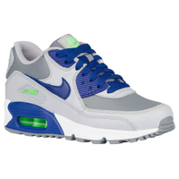 Nike Air Max 90  - Boys' Grade School - Grey / Blue