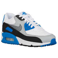 Nike Air Max 90  - Boys' Grade School - White / Light Blue