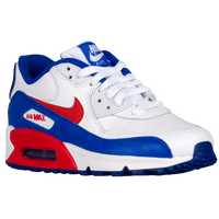 Nike Air Max 90  - Boys' Grade School - White / Red