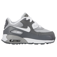 Nike Air Max 90 - Boys' Toddler - Grey / White