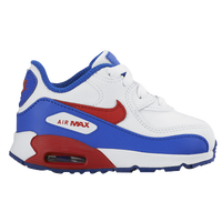 Nike Air Max 90 - Boys' Toddler - White / Red