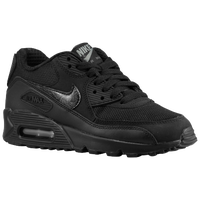 Nike Air Max 90  - Boys' Grade School - Black / Grey
