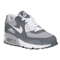 Nike Air Max 90  - Boys' Grade School - Grey / White