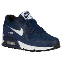 Nike Air Max 90  - Boys' Grade School - Navy / White
