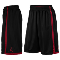 Jordan Jumpman Crossover Shorts - Men's - Black / Red