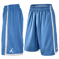 Jordan Jumpman Crossover Shorts - Men's - Light Blue / White