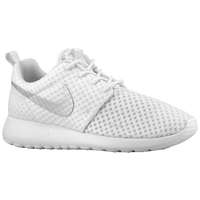 Nike Roshe Run - Women's - White / Silver