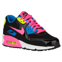 Nike Air Max 90 - Girls' Grade School - Black / Pink