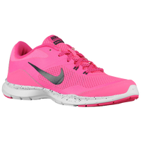 Nike Flex Trainer 5 - Women's - Pink / White