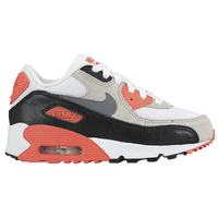 Nike Air Max 90 - Boys' Preschool - White / Grey