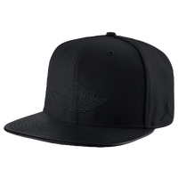 Jordan Retro 2 Snapback - Men's - All Black / Black