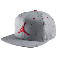 Jordan Retro 4 Cap - Men's - Grey / Red