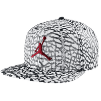 Jordan Jumpman Seasonal Snapback - Adult - White / Black