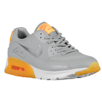 Nike Air Max 90 - Women's - Grey / Gold